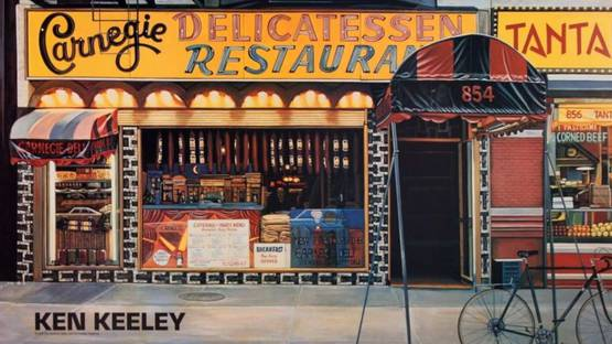 Ken Keeley - Carnegie Delicatessen Restaurant, 1989 (detail)