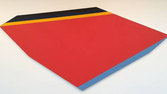 Kenneth Noland - Adjoin, 1980, photo credits - Kenneth Noland Estate