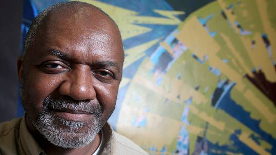 Kerry James Marshall - Photo by Brett T. Roseman for the Washington Post (detail)