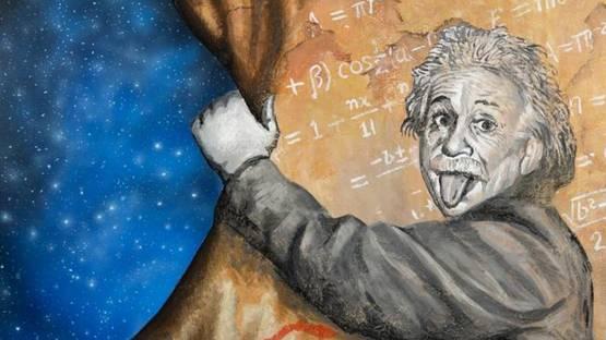 Keter and Jeff Hamilton - Einstein (Detail)