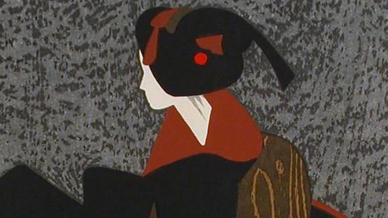 Kiyoshi Saito - Maiko (3) - detail
