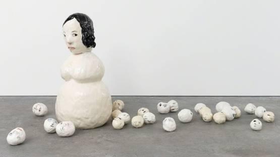 Klara Kristalova - Snow mom, 2016