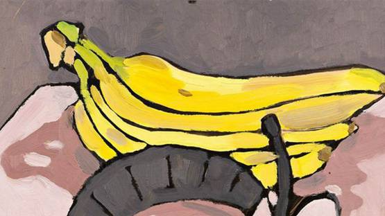 Kristen Opstad - Bananas (detail), 2016, Image courtesy of Reeds Projects Gallery