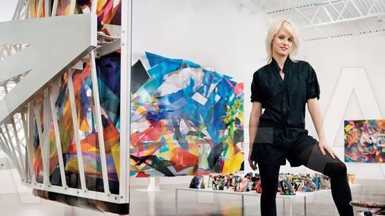 Kristin Baker, artist, photo credits - Mao Syndication