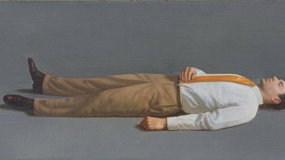Kurt Kauper - Study for Man Lying Down, 2014
