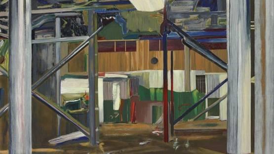 Larry Dinkin - Interior Landscape, 1999 (detail)