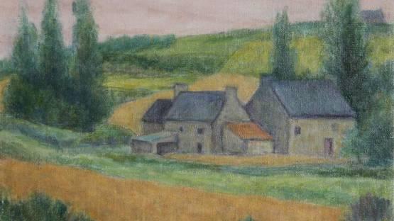 Laurent Marcel Salinas - Petite Ferma a Plouescat Bretagne, 1991 (detail)