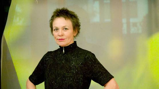 Laurie Anderson - A Photo of the Artist - Image via pomegranateartscom