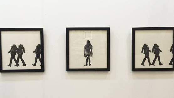 Law Ka Nam, Bosco - Real person #004 (set of 3), ink on paper