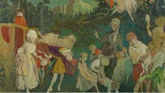 Lee Woodward Zeigler - Fairy Tale Illustration (detail)