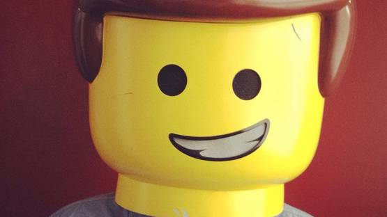 Lenz - Lego-head portrait