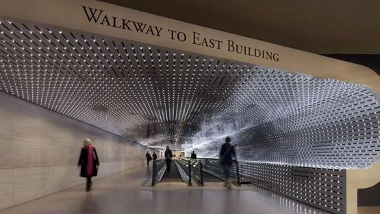Leo Villareal - installation at National Gallery of Art, Washington DC, photo credits of the artist