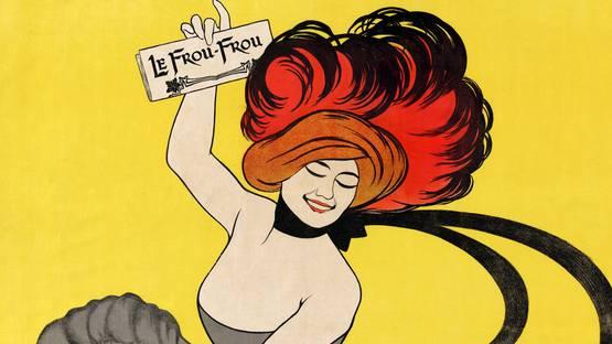Leonetto Cappiello - Le Frou-Frou, 1899 (Detail) - Image source Wikipedia