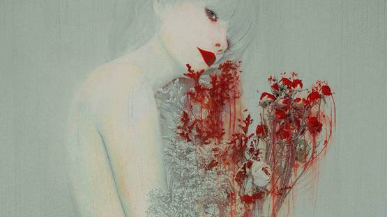 Leslie Ann O'Dell - Widow (detail), Image copyright of the artist