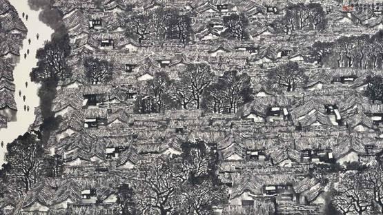 Li Xiaoke - Homeland, 2004, photo via sothebys