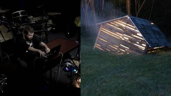 Liam Slevin at Sonic Vigil, Triskel, Unknowing the Interstice, Detroit, Michigan, 2014