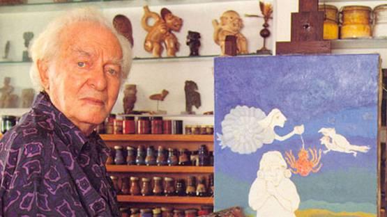 Liber Fridman - Photo of the artist - Image via latinamericanartgalleries