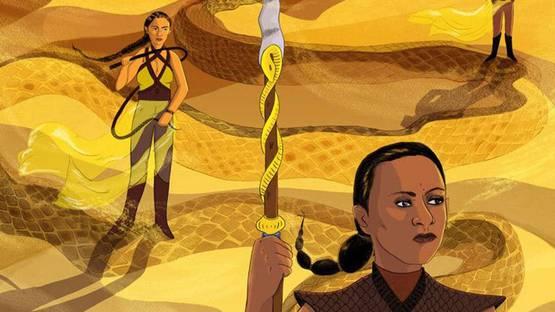 Lily Padula - Sand Snakes (detail) - image courtesy of Spoke Art