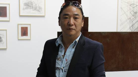 Ling Jian - Chinese artist in White Cubes booth