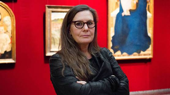 Lisa Yuskavage - Artist's portrait, 2014 - Image via artisprojectmetmuseumorg