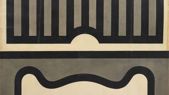 Lloyd Hamrol – Untitled, ca 1970 (detail)