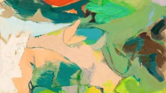 Lois Gross Smiley - Suburban Summer, 2003 (detail)
