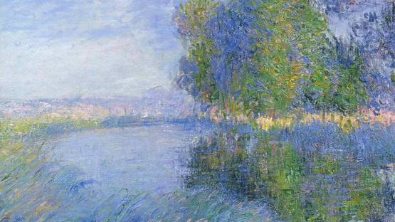Loiseau Gustave - Trees in Bloom (detail), photo via Wikiart