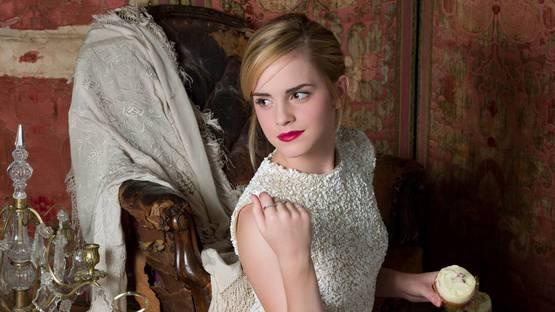 Lorenzo Agius - Emma Watson Photoshoot, 2009 (Detail) - Copyright Lorenzo Agius