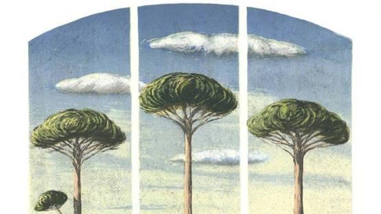Lorenzo Lazzeri - Pecore al albero, 2004 (detail)