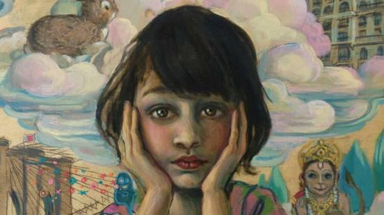 Lori Nelson - Lila portrait (detail)