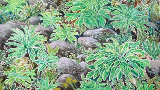 Lorne Wagman - Spring Weeds, 2009 (detail)
