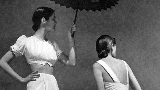 Louise Dahl-Wolfe - photo for Harper's Bazaar (detail), May 1943, photo via theredlist com