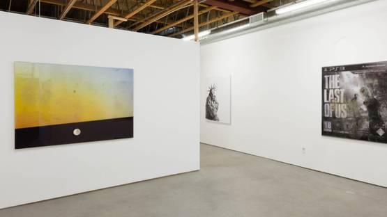 Lucie Stahl - Ren, Freedman Fitzpatrick, Los Angeles, 2014, installation view, photo via freedmanfitzpatrick