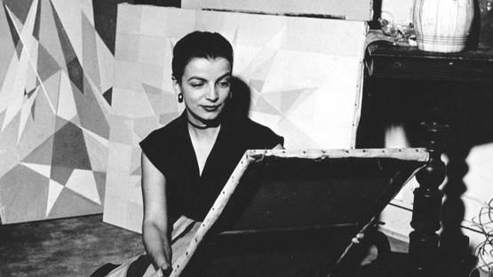 Lygia Clark - Photo of the artist - Image via artlogic-res