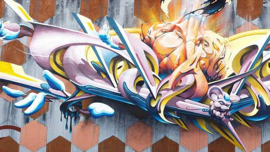 Made514 - Graffiti piece in Padua, Italy - Photo couresy of Made514
