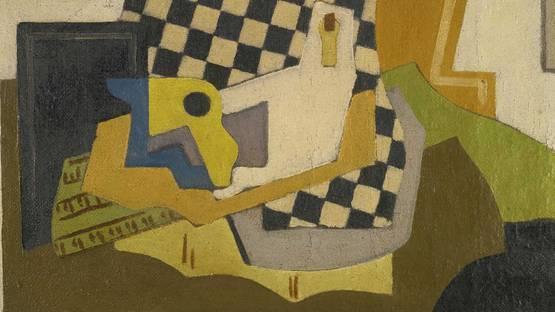Mainie Jellet - Composition (detail), 1925, Image via Sothebys