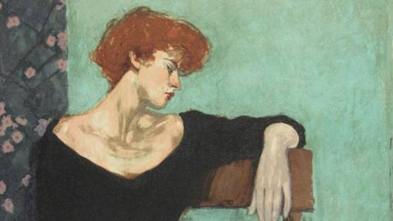 Malcolm T. Liepke - Seated Profile (detail)