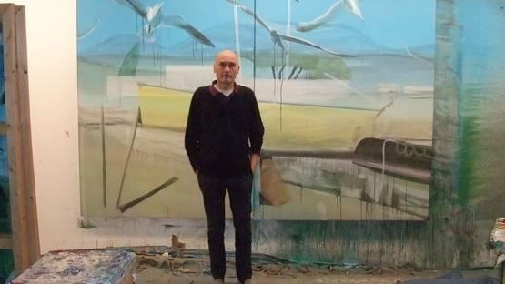 Marc Desgrandchamps - Photo of the artist - Image via bp