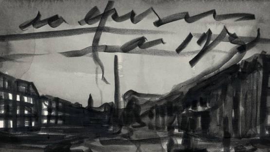 Marcel van Eeden - Untitled (detail), photo credits - artist