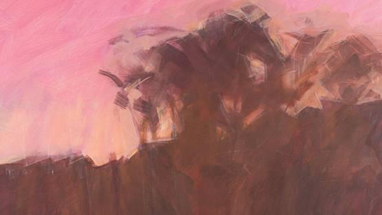 Marco De Marco - Landscape (detail) - image via graysauctioneerscom