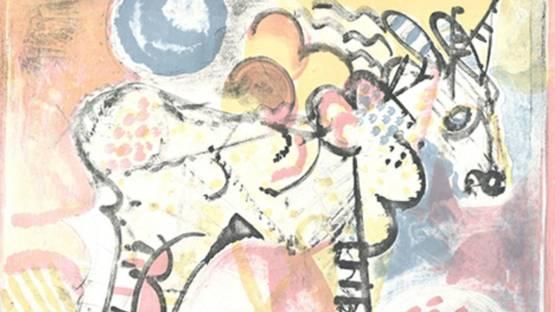 Mario Francesconi - Cavallo, 1971 (detail)