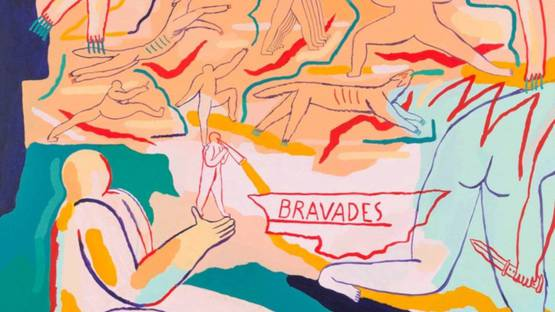Marion Jdanoff - Bravades, 2018 (detail)