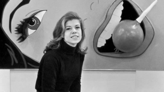 Marjorie Strider - Photo of the artist - Image via amazonawscom