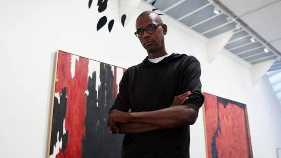 Mark Bradford - Mark Bradford on Clyfford Still - Image via metmuseumorg