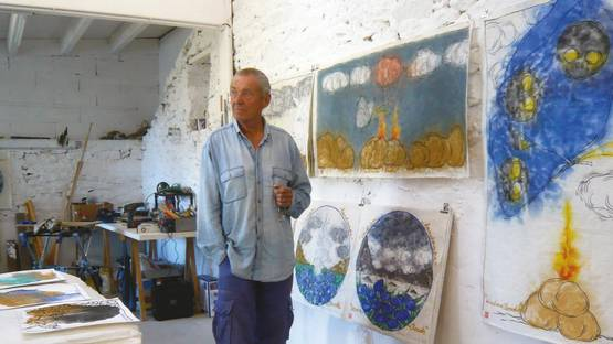 Mark Brusse - portrait, photo courtesy of Art Absolument