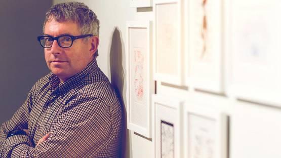Mark Dion - portrait, photo credits University of Virginia, University news
