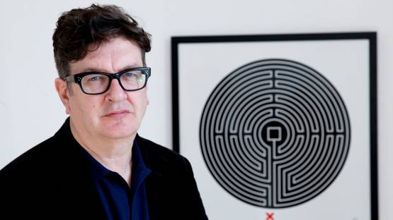 Mark Wallinger portrait - Image source The Strand Gallery