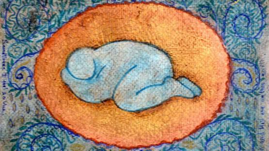 Martine Barnard - Sometimes I Feel So Blue, 1995 (detail)