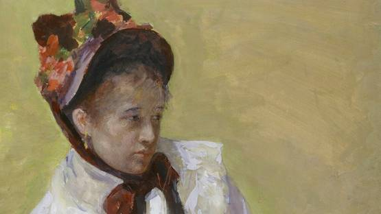 Mary Cassatt - Self-portrait , 1878 (Detail) - Copyright Metropolitan Museum of Art
