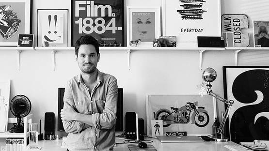 Matt Chase in his studio - Courtesy of the artist